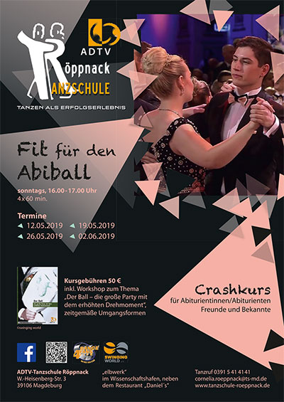 Flyer Fit fuer den Abiball 2019 klein